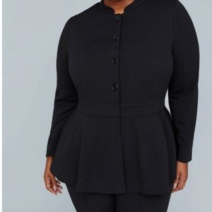 Girl with Curves Peplum Jacket from Lane Bryant